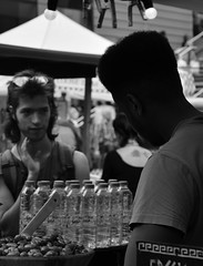 Olives (leannerhodes) Tags: london food market streetphotography bw men olives