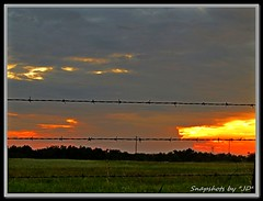 Sunset After the Storms (Snapshots by JD) Tags: storm oklahoma rain clouds god