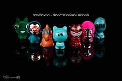 37x50x50 - Gogo's Crazy Bones (Forty-9) Tags: studio strobism strobist yongnuospeedliteyn560iv canon eflens ef50mmf18ii lightroom yongnuo flash eos60d 50mm niftyfiftyproject 50x50x50 50x50x50project 50x50x50challenge july niftyfifty 2016 gogoscrazybones 37x50x50 22ndjuly2016 gogos toys 22072016 friday