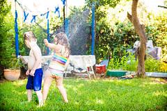 -  (lermaniac) Tags: fun summer kids wet backyard water sprinkler