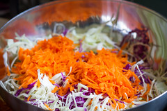 Coleslaw (_Bentraveling_) Tags: coleslaw color vegetables vibrant yum