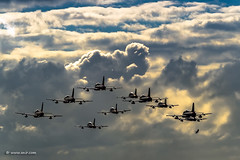 Frecce Tricolori - Ocean's Eleven ;-) (xnir) Tags: aviation aircraft nir xnir nirbenyosef frecce tricolori oceans eleven