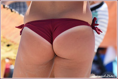 Behind, on the beach (massimo melis) Tags: beautiful girl woman ass back