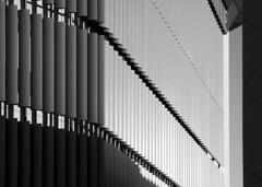Louvres (albireo 2006) Tags: blackwhitephotos blackandwhite blackandwhitephotos blackwhite bw malta lifesciencesbuilding architecture