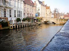 [ARCHIVES]Bruges (DiscoloredBlueSummers) Tags: coolpix nikon winter river belgium bruges