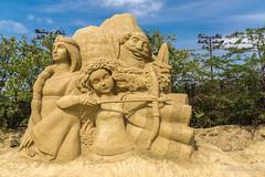 036 - Burgas - Sand Sculptures Festival 2016 - 24.08.16-LR (JrgS13) Tags: bulgarien filmhelden outdoor reisen sand sandscuplturefestivals sandskulpturenfestival urlaub burgas