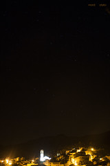 Stars upon Porrera (MordorPotato's Photography) Tags: porrera starry night star stars village town light long exposure priorat church