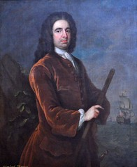 Admiral Edward Vernon (1743), by Charles Philips (bodythongs) Tags: old portrait england house english history childhood museum painting hall washington derbyshire picture charles philips peinture mount edward national trust restoration sudbury mansion admiral vernon grog uttoxeter pemberley jacobean