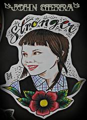 (johnsaw79) Tags: girl tattoo traditional oi skinhead tattooart skingirl tattooer flashtattoo oldschooltattoo neotraditionaltattoo johnsierratattooer
