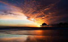 Huntington Beach Sunset (J Sonder) Tags: california orangecounty huntingtonbeach laist