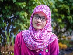 SRI RAHAYU (sandyfdp) Tags: indonesia hijab jakarta ml yashica cantik f19 serang cewek banten