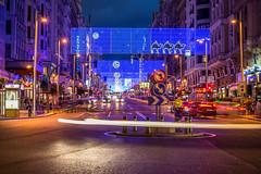 Gran Via (Calidad en Formato Completo) Tags: madrid plaza espaa navidad nikon via gran nocturnas palacio granvia 2014 alvarogarcia