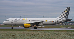 Vueling A320-200 EC-MCU (birrlad) Tags: barcelona ireland dublin airplane airport spain frost taxi aircraft aviation airplanes bcn international airline airbus 28 airways airlines departure takeoff runway dub airliner departing a320 taxiway a320200 a320214 ecmcu