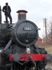 P1110165 (ianpreston) Tags: leicester loughborough steamtrain locos gcr steamgala2015