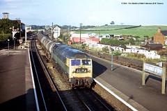 27/08/1974 - Barnetby, North Lincolnshire. (53A Models) Tags: train diesel railway freight britishrail northlincolnshire class47 barnetby 47370