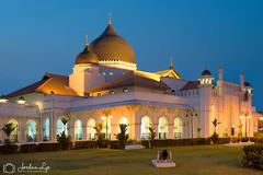 kapitan keling Mosque (Jordan Lye) Tags: light night island town george worship dusk muslim religion mosque unesco holy malaysia historical penang malay allah