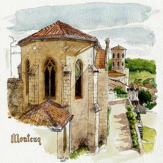 Montcuq, abbaye