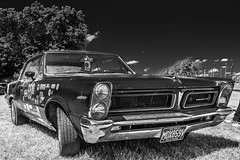 1965 Pontiac Tempest 326. (Suggsy69) Tags: blackandwhite bw classic monochrome car mono blackwhite nikon classiccar american pontiac tempest 1965 brandshatch 326 pontiactempest d5200