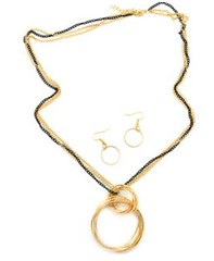5th Avenue Gold Necklace P2011-1