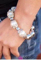 5th Avenue White Bracelet K1 P9409-4