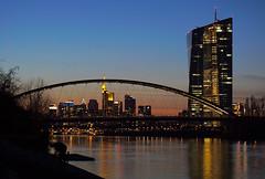 Frankfurt Skyline EZB ECB (jetlag6000) Tags: skyline frankfurt main ecb ezb osthafen