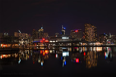 Docklands @ Night (RayWarrenPhoto) Tags: city travel copyright night river flickr ray australia melbourne victoria yarra docklands warren cbd raymondo raywarren raymondoh wwwraywarrenphotocom