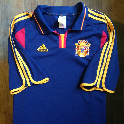 50e49789f27 Photos tagged with home. UEFA Euro 2000 Belgium-Netherlands Spain Away  Jersey