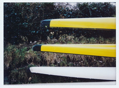 Three Bows (Song-to-the-Siren) Tags: kayak fuji canoe neo analogue rowingclub instax riverwey instantfilm instaxmini fujiinstax90