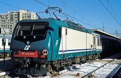 464 029  Ravenna  07.06.04 (w. + h. brutzer) Tags: italien analog train nikon italia eisenbahn railway zug trains locomotive fs ravenna lokomotive elok 464 eisenbahnen eloks webru