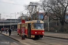 Prag (CZ) (tram2000@gmx.de) Tags: trolley prag praha tschechien streetcar tramway strassenbahn tramvaj tramwaj  esko