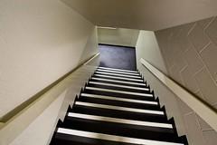 down (keith midson) Tags: hat stairs that steps down stairwell utas universityoftasmania