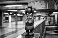 Hold Head (justingreen19) Tags: city nyc newyorkcity urban sculpture usa ny newyork abstract station female bronze america subway coin breasts unitedstates manhattan platform streetphotography installation mta characters publicart 14thstreet subwaystation comical otterness tomotterness headsup 8thavenue bluecollar nycsubway urbanabstract eighthavenue bronzesculptures lifeunderground holdinghead metropolitantransitauthority 14thstreetstation publicartinstallation commissionedart mtaart 8thavenuestation bluecollarworkers justingreen19 comicalcharacters holdingyourhead justingreenphotography metropolitanareatransitauthority mtasculpture