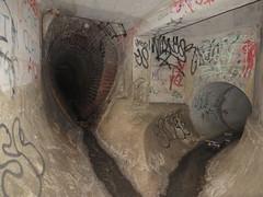 Which way? (tamzramz.tamzramz) Tags: underground melbourne tunnel drain urbanexploration solo stoop ue drains urbex underyourfeet ineednewshoes goindrains skateboardmission soloyolo