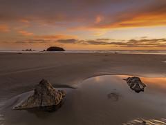 balance (javier mascareas) Tags: newzealand christchurch sunrise canterbury sumnerbeach seaescape tokina1116 nikond7000