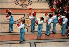 2015 Chinese New Year (Canis Major) Tags: dancing chinesenewyear fans bristolmuseum 2015 yearofthesheep monthshot