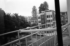 (Zavras) Tags: sf california white black film 35mm fire san francisco escape apartment olympus xa2 dolores ilford zavras