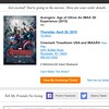 "You know I copped those presale tickets as SOON as they came up. #AvengersAgeofUltron #Avengers #Ultron #JossWhedon #Marvel #Disney #IMAX #movies #InJossWeTrust #dfatowel • <a style=""font-size:0.8em;"" href=""https://www.flickr.com/photos/130490382@N06/16512719357/"" target=""_blank"">View on Flickr</a>"