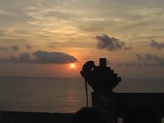 Sunset, Monkey, Temple