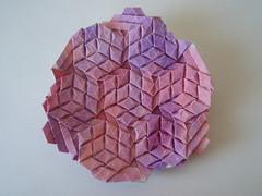 Cubes (Monika Hankova) Tags: paper origami tessellation