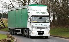 Renault 6x2 Monks Bulk waste PO62JVP  Frank Hilton 06032015 036 (Frank Hilton.) Tags: pictures classic truck frank photos transport hilton lorry trucks