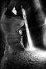 Slot Canyon Light Ray (addddee) Tags: trip travel light arizona blackandwhite bw sun art canon ray sigma beam t3 slot highlight slotcanyon lightrays antelopecanyon 1835 lightray lightbeam sigma1835 arizonausa artlens canont3