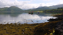 Loch Creran (pjfchad) Tags: lake boats highlands loch scottishhighlands lochcreran