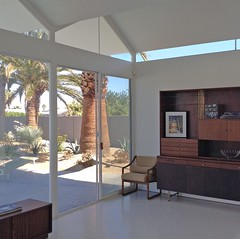Alexander Steel House 1, interior (VitricArt) Tags: palmsprings midcenturymodern wexler alexanderhomes steelhomes racquetclubestates