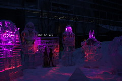 Icefest 32 (codie_horse) Tags: toronto statues talent wintertime yorkville icecarving frozenintime 2015 ancientegyptian blooryorkville 10thyear madeofice 10thannualicefest icefest15 bloorandyorkville