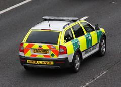 East of England Ambulance Service Skoda Octavia Scout Driver Training Rapid Response Vehicle - YB62 GRZ (IOW 999 Pics) Tags: england training scout ambulance east vehicle driver service rapid skoda octavia response yb62grz