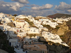 Oia (quiggyt4) Tags: street sunset food cliff dog white streets beach cooking church windmill cake architecture dessert greek stew volcano ancient paint dusk eggplant cook eu shrimp santorini greece foodporn caldera dome villa beaches seafood aubergine cave extension greekislands volcanic negotiation troika eruption greeksalad oia feta minoan whitewash kamari fira bluedome greekfood debt eurogroup imerovigli akrotiri redbeach kamaribeach greekisland fetacheese ows pyrgos bailout occupy eurozone giouvetsi syriza tsipras occupywallstreet