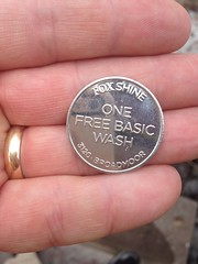 Hand Holding Fox Shine One Free Basic Wash Coin 3120 Broadmoor (stevendepolo) Tags: one coin holding shine hand free wash fox basic broadmoor 3120