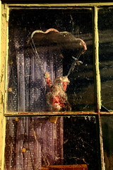 Hanging Around For Xmas (Darren Schiller) Tags: santa christmas old abandoned toy rustic disused derelict decaying tooraweenah
