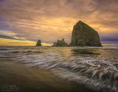 Look back at Cannon (Dave Arnold Photo) Tags: ocean statepark travel sunset sea wild sky woman usa cloud hot west sexy ass beach nature wet water beautiful rock sex oregon canon naked nude landscape photography spread islands coast us photo big high fantastic tit photographer tour pacific outdoor or awesome tide arnold pussy scenic picture peaceful wave pic coastal photograph american haystack huge wife upskirt 5d serene cannonbeach milf ore idyllic highway101 seastack mkiii statebeach 1635mm clatsopcounty tolovana davearnold davearnoldphotocom