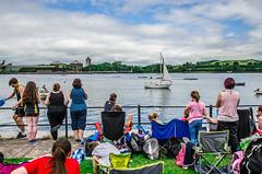 Watching (NeicyMurphy) Tags: street ireland sea people seascape west sport cork coastal rowing passage cobh